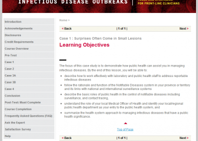 Learning Objectives and Navigation