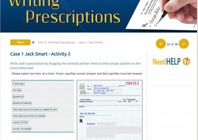 Writing Prescriptions