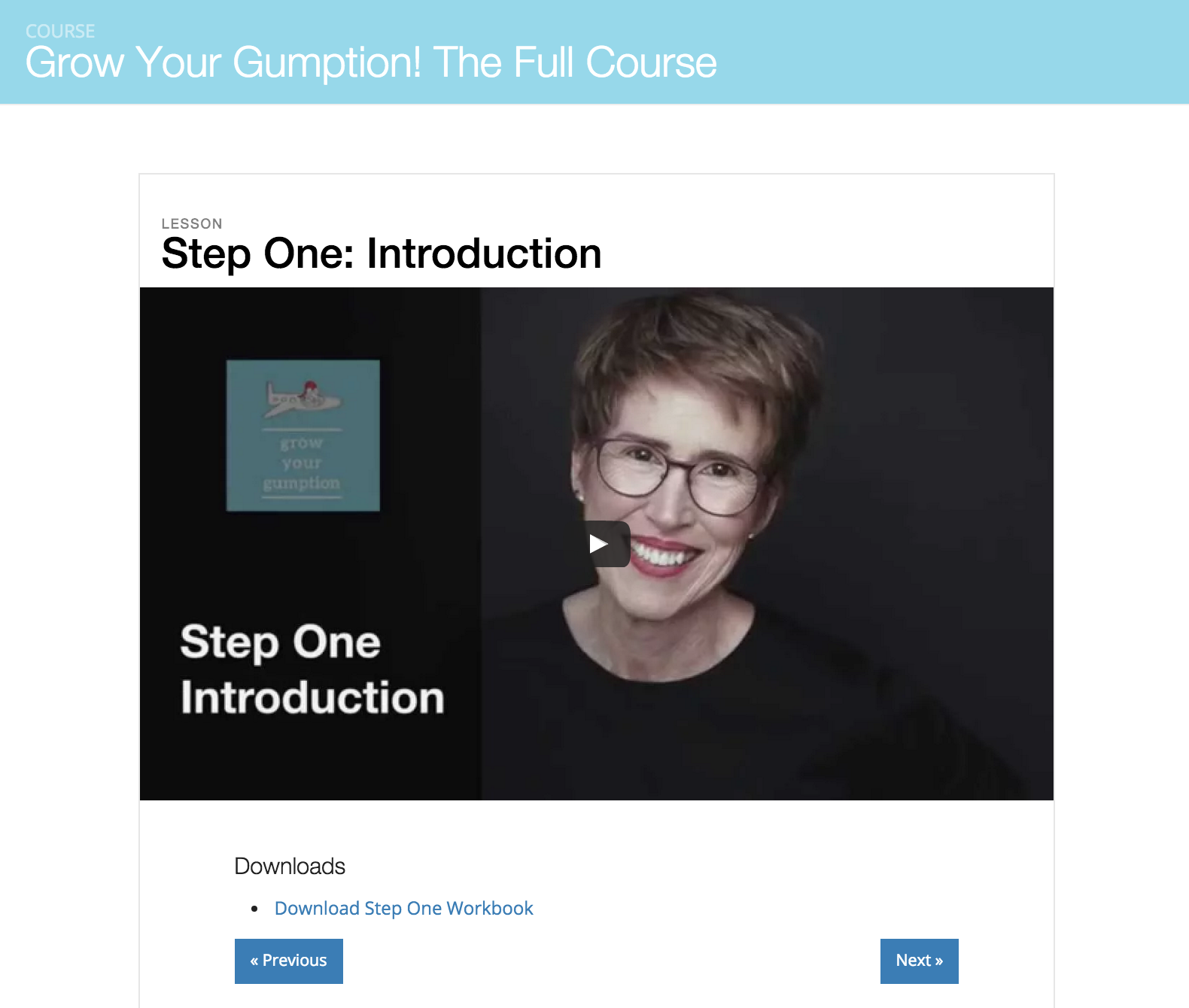 Grow Your Gumption